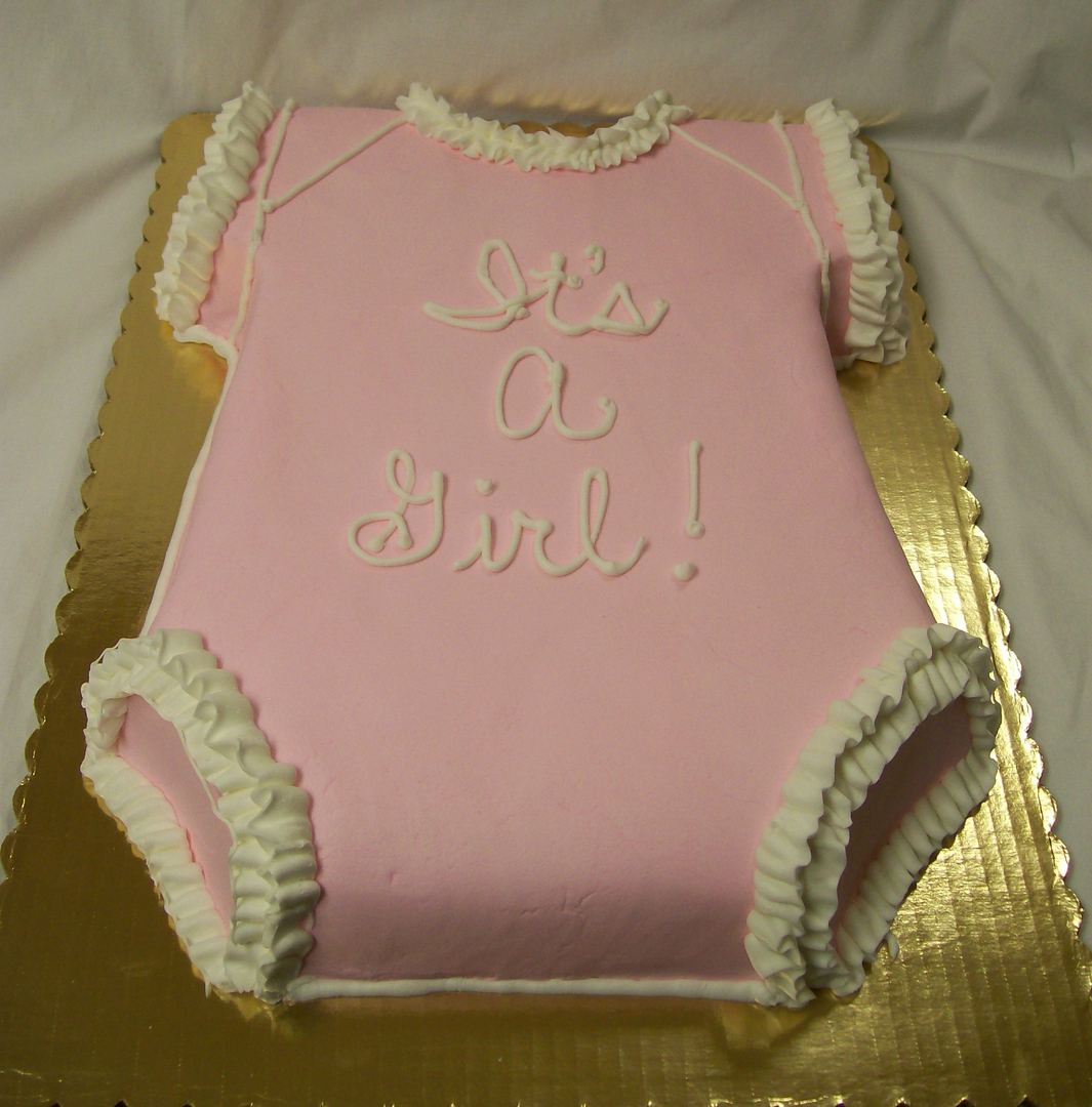 Custom Made Cakes And Cookies In West Baby Shower Cakes 3 Onesies