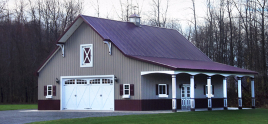 home houses own barn your easy barns are build pole house construct to