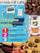 Goodies and Gifts Spring Fundraiser Brochure