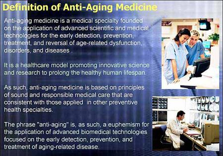 Prolong the healthy human lifespan