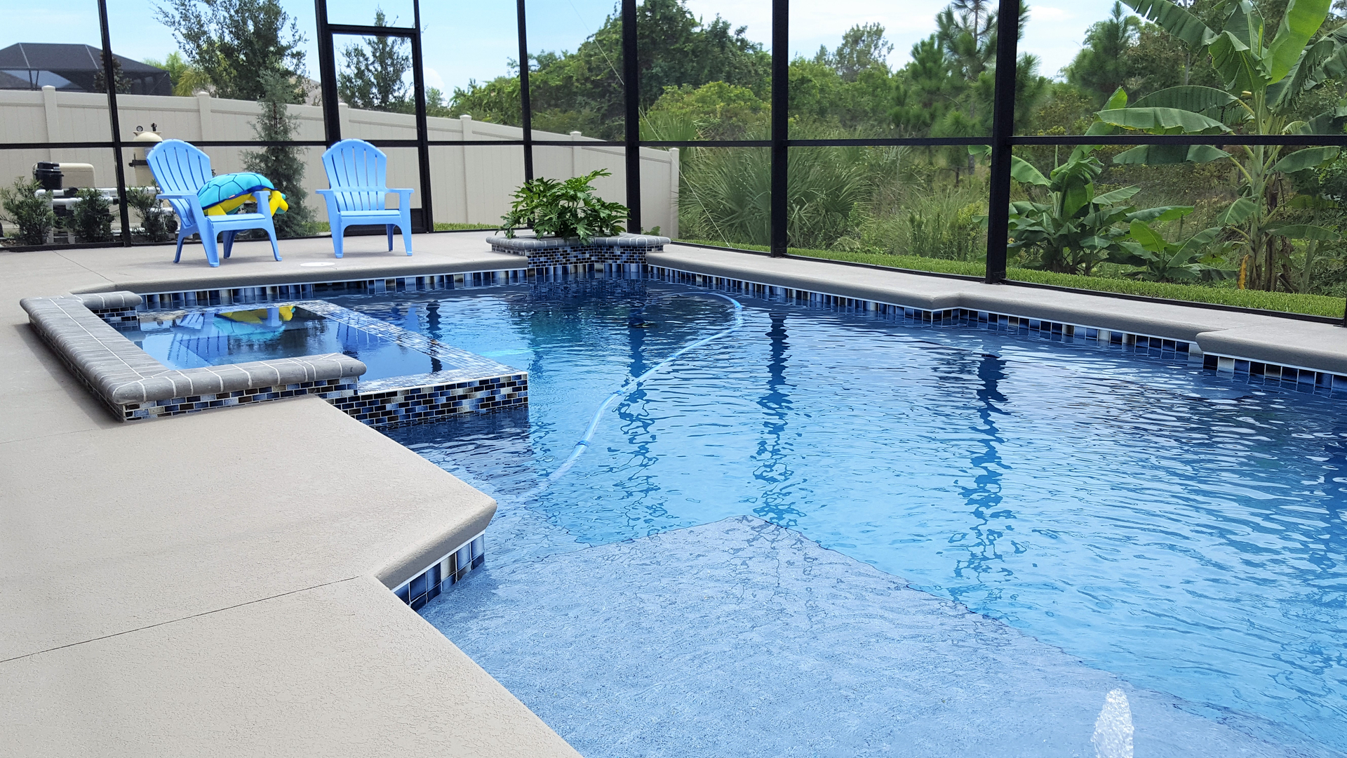 Swimming Pool Builder serving Titusville, Melbourne & all of
