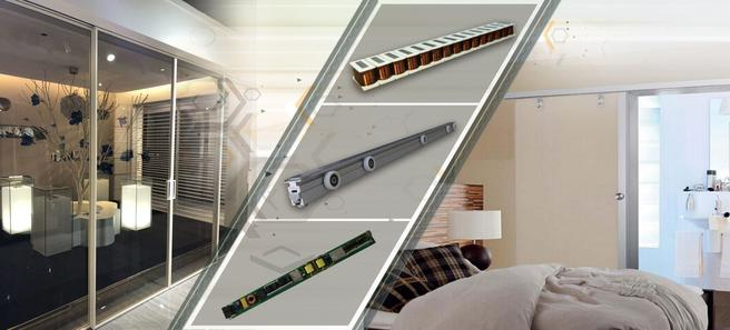 Magnetic drive sliding door systems