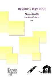 Bassoons' Night Out bassoon quintet sheet music available here