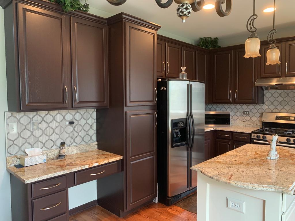Kitchen Cabinet Painting- Kammes Colorworks Cabinet ...
