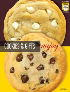 Toll House Cookie Dough Fundraising Brochure