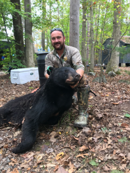 First bear of the year, by on one of FMJ's members Phil Woodrow