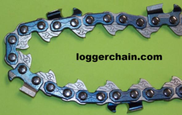 3//8LP 4 Archer 3//8 LP .043 1.1mm 50 DL Drive Links Chainsaw Saw Chains Loop
