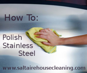 clean stainless steel without chemicals