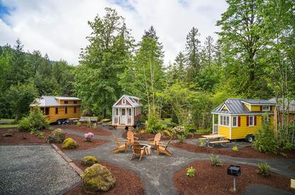 Mt Hood Tiny House Village in Oregon