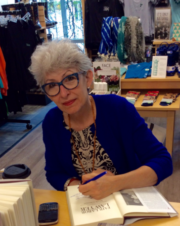 Marlene Trestman signing copies of Fair Labor Lawyer at Tulane University Book Store
