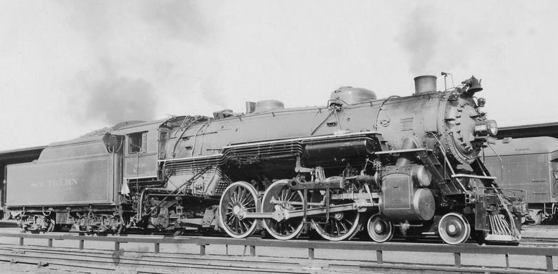 The Ps-4 class was a class of 4-6-2 steam locomotives built for the Southern Railway, as well as its subsidiaries, the Alabama Great Southern Railroad and the Cincinnati, New Orleans and Texas Pacific Railway.