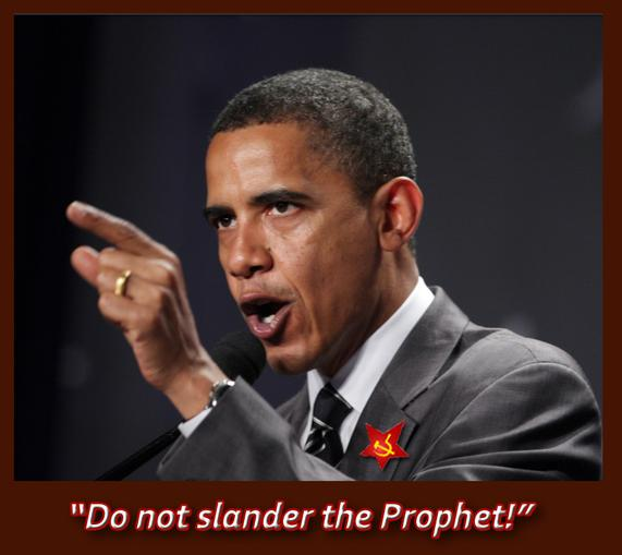 Obama, Muslim and communist sympathizer in one
