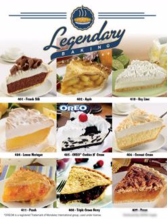 Legendary Pie Fundraiser Single Page Brochure