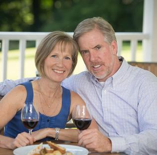 Karen & Keith owners of Market Taverne Restaurant & Bar Morristown NJ