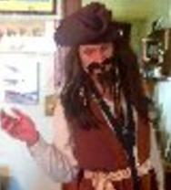Hire Pirate Party, Captain Jack Sparrow