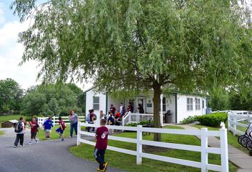 Amish one-room school
