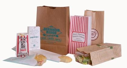 Bakery and doughnut bags