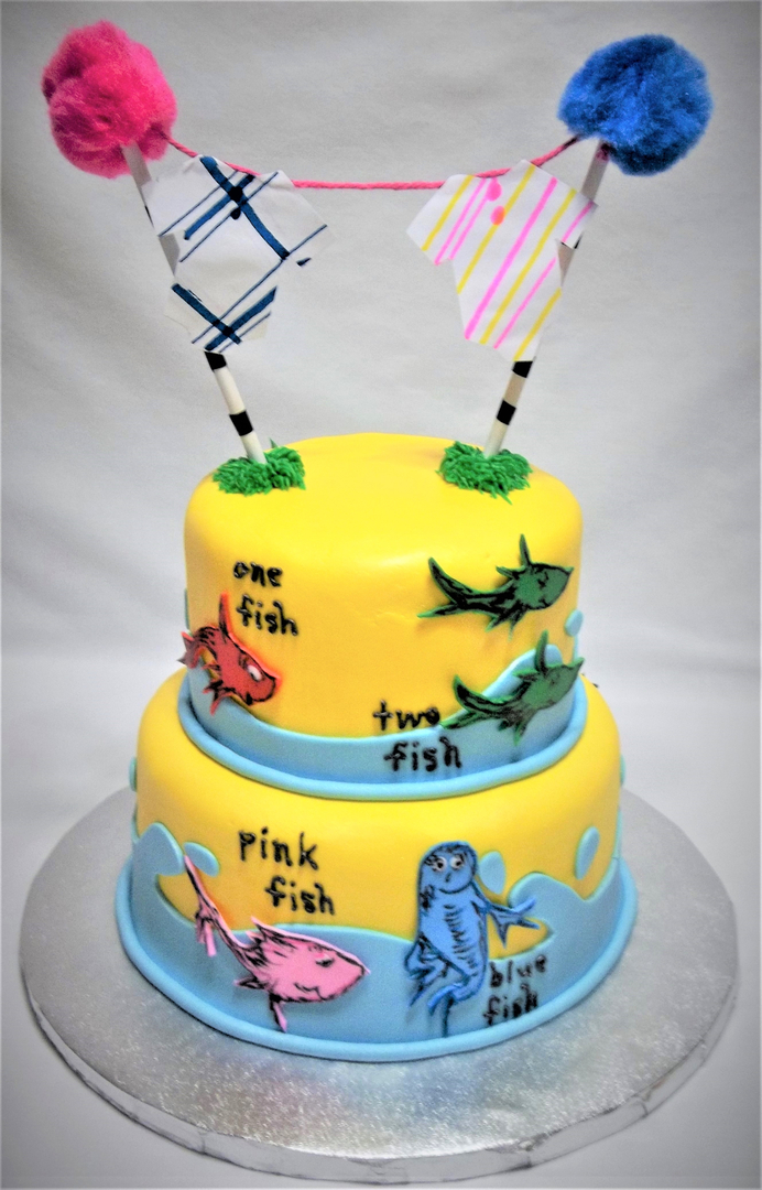 Custom made cakes and cookies in West - Baby Shower Cakes 6 Nursery ...