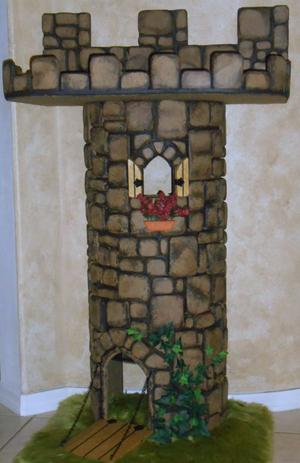 Kitty Chateau Castle Cat Tree