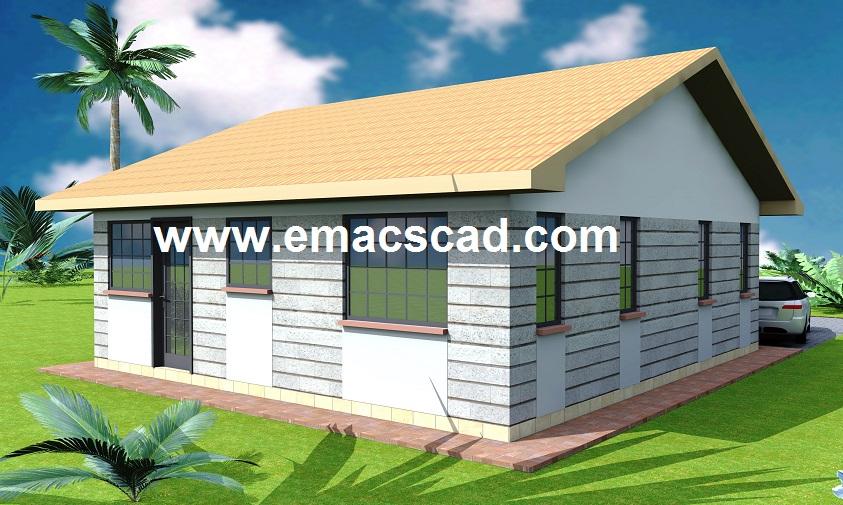 Outstanding two bedroom house plans in kenya gallery for Best house designs in nairobi