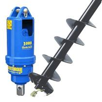 Post Hole Borer for 1.5 & 3.0 Ton Machines