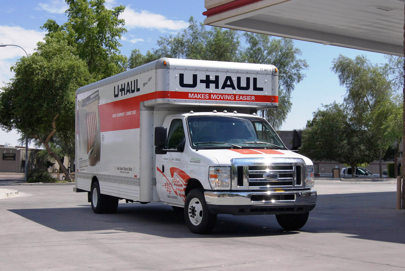 Looking to reserve a u haul van click here