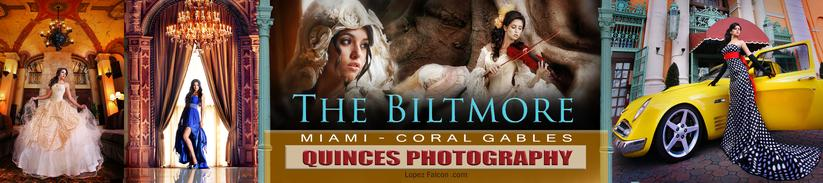 BILTMORE QUINCEANERA PHOTOGRAPHY CORAL GABLES MIAMI QUINCES