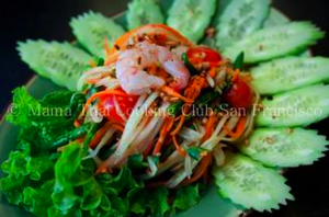Learn how to make green papaya salad