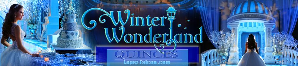 Winter Wonderland Quinceanera Party Quince Parties Theme Ideas Quinceañera Celebration Party Themes Tips for Dresses Choreography Cakes Quinces Stage & Decoration