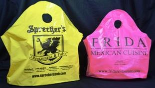 Custom Plastic Take Out Bags