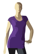 Woman's Top Pixabay vector graphic