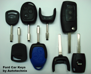 Replacement Spare Ford Car Keys