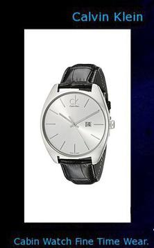 Product specifications Watch Information Brand, Seller, or Collection Name Calvin Klein Model number K2F21120 Part Number K2F21120 Model Year 2017 Item Shape Round Dial window material type Anti reflective sapphire Display Type Analog Clasp deployant-clasp-with-push-button Case material Stainless steel Case diameter 44 millimeters Case Thickness 9 millimeters Band Material leather calfskin Band length Men's Standard Band width 22 millimeters Band Color Black Dial color Silver Bezel material Stainless steel Bezel function Stationary Calendar Date Special features Luminous, measures-seconds Item weight 3.04 Ounces Movement Swiss quartz Water resistant depth 99 Feet,calvin klein canada