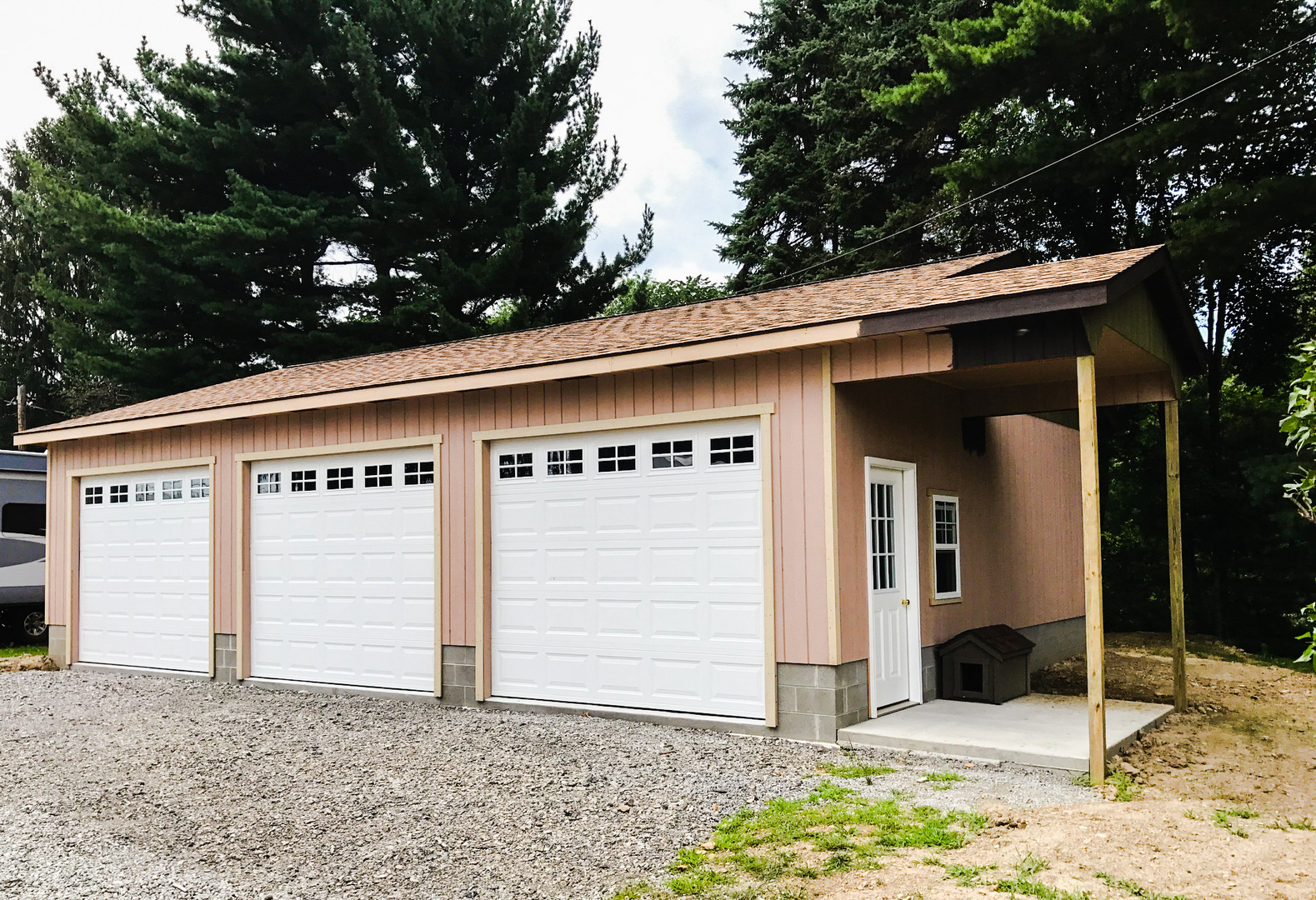 prefabricated sale for built lidgetcompton pent garages by prefab specialist nationwide standard concrete pre your garage