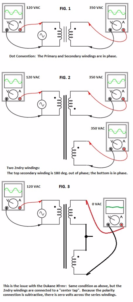 Transformer voltage cancelling