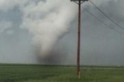 Wyoming Tornado During Storm Chasing Tour