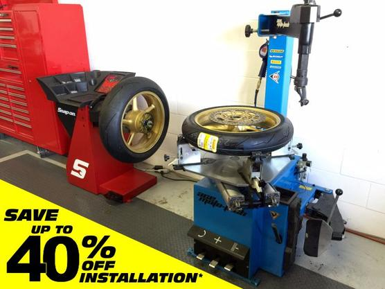 Motorcycle Tire Installation Computer