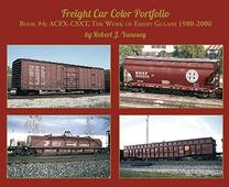 Freight Car Color Portfolio Book #4 ACFX-CSXT