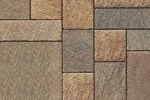 Unilock Patio Paver Il Campo in Coffee Creek Color