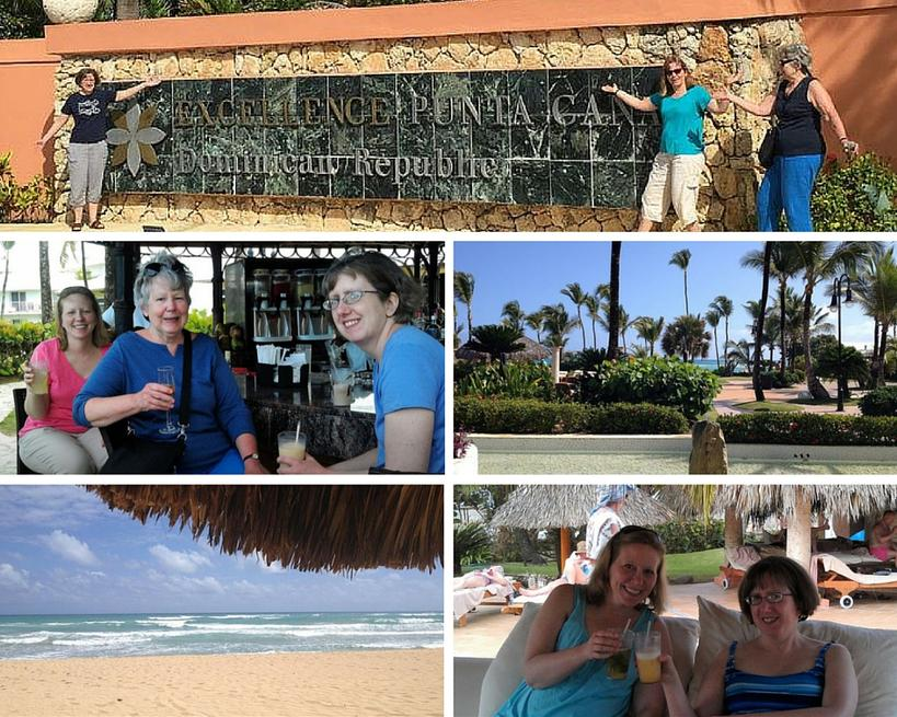 Anne and Family Enjoy a Family Vacation in Punta Cana