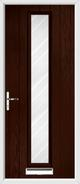 1 Strip Composite Door stripes glass