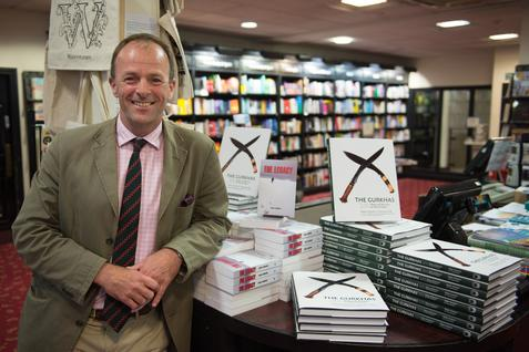 Craig Lawrence at Waterstones in Salisbury