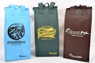 Craft Beer insulated growler bags