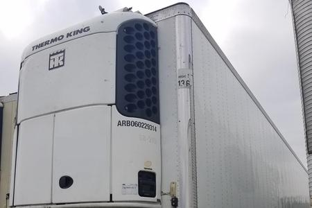 2007 53x102 Utility Reefer Trailer w/Thermo King Unit