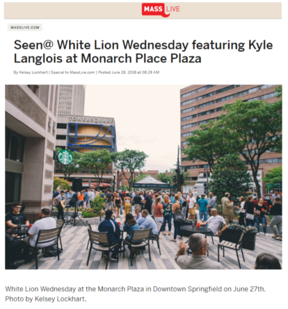 Kyle Langlois Music performs at White Lion Wednesday in Downtown Springfield, MA
