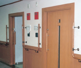 semi-auto sliding door system