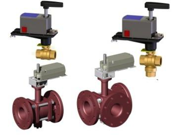 Griswold Controls 2Way and 3Way Ball Valve