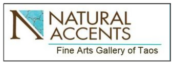 Subscribe to the Natural Accents Gallery of Taos monthly news letter.