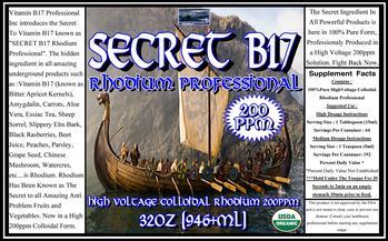 HV Colloidal Rhodium Professional 200ppm