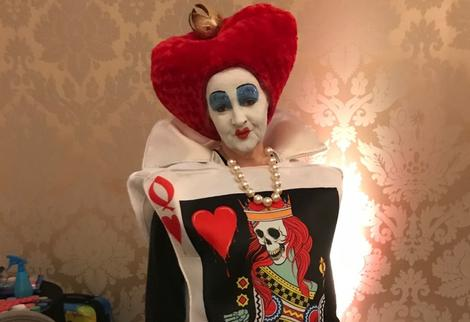 The Red Queen, Alice In Wonderland style Party Character